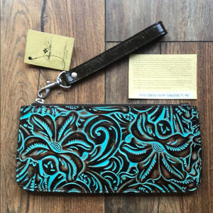 PATRICIA NASH TOOLED ST. CROCE WRISTLET NWT